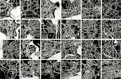 Kuitka -Sin titulo - acrilico sobre lienzo - 193x298.2cm - 1990