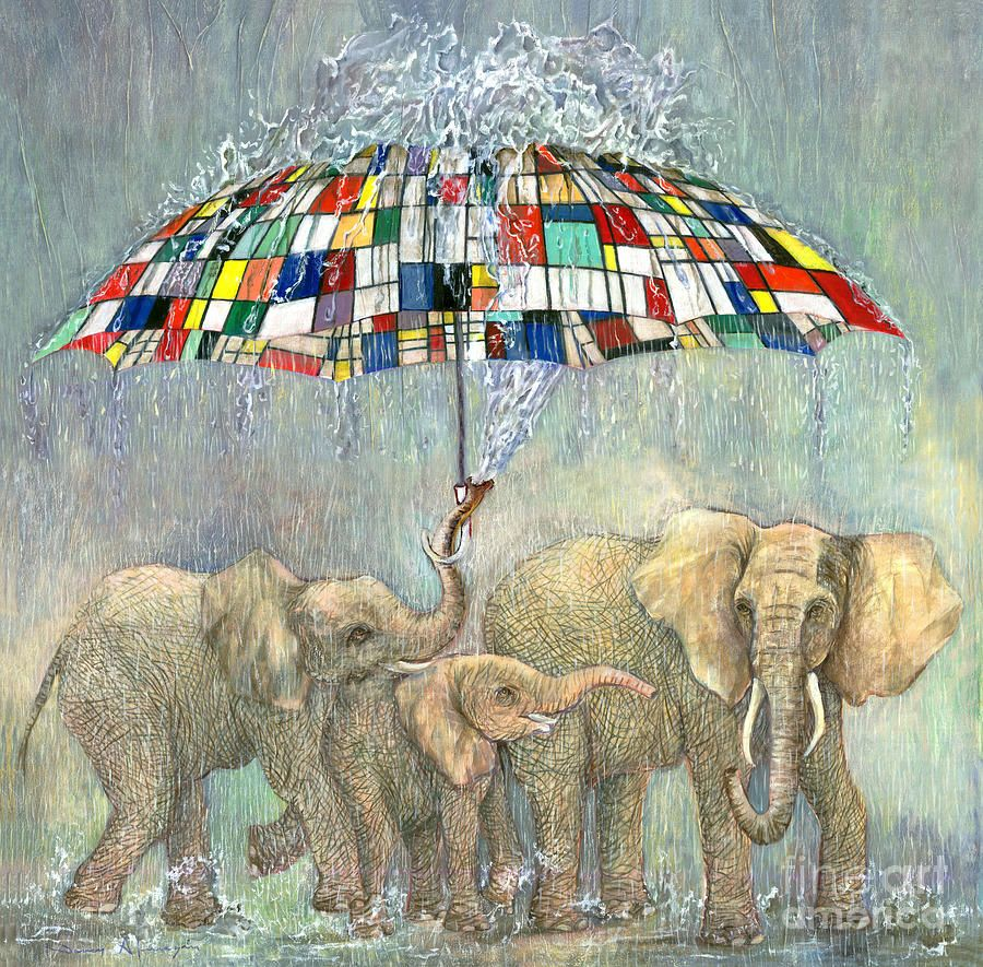El paraguas de Mondrian, Nancy Almazan